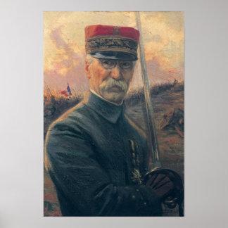 General Joseph Gallieni Poster