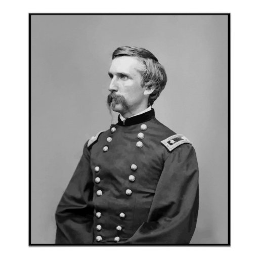 General Joshua Lawrence Chamberlain -- Border Print