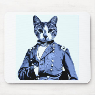 General Kitty Mouse Pad