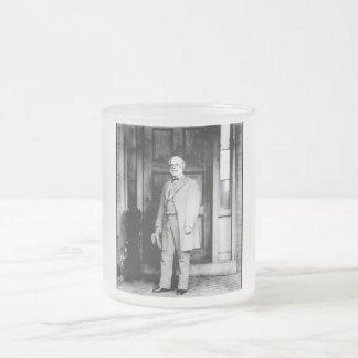 General Lee Frosted Glass Mug