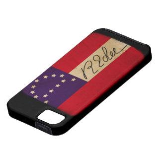 General Lee Headquarters Flag with Signature iPhone 5 Case