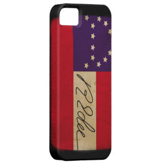 General Lee Headquarters Flag with Signature iPhone 5 Case