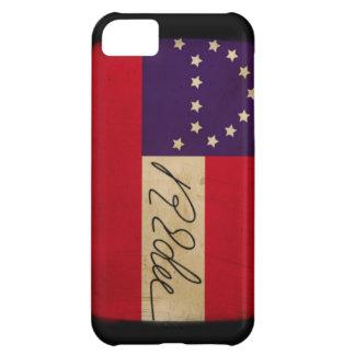 General Lee Headquarters Flag with Signature iPhone 5C Case