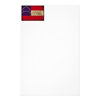 General Lee Headquarters Flag with Signature Personalised Stationery