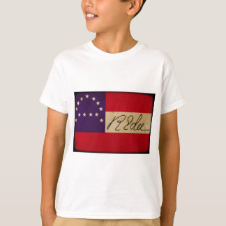 General Lee Headquarters Flag with Signature Tshirts