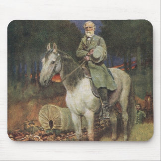 General Lee on his Famous Charger, 'Traveller' Mouse Mat