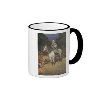 General Lee on his Famous Charger Traveller Mugs