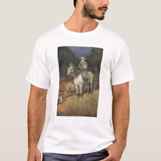 General Lee on his Famous Charger, 'Traveller' T-Shirt