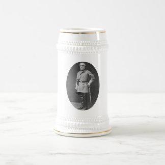 General Lee with Sword Beer Steins