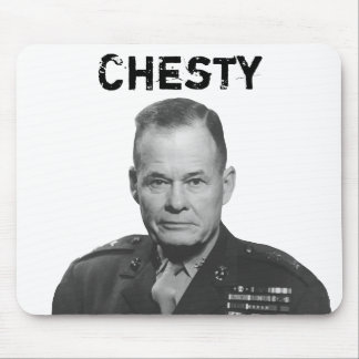 "General Lewis Puller -- ""Chesty"" Mouse Pad"