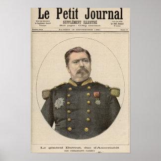 General Louis Nicolas Davout Poster