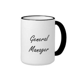 General Manager Artistic Job Design Ringer Mug