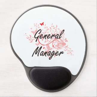General Manager Artistic Job Design with Butterfli Gel Mouse Pad