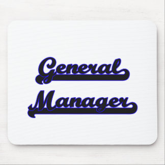 General Manager Classic Job Design Mouse Pad