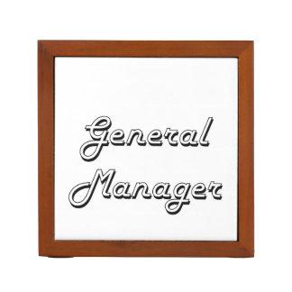 General Manager Classic Job Design Pencil/Pen Holder