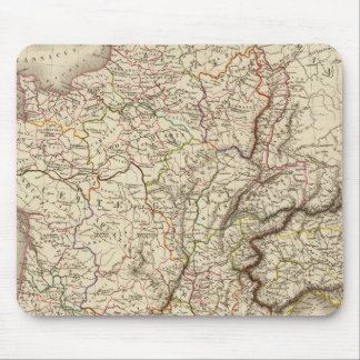 General map of Gaul Mouse Mat