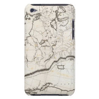 General Map of North America iPod Touch Cases