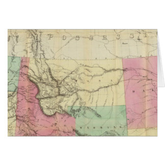 General Map of the North Pacific States Card