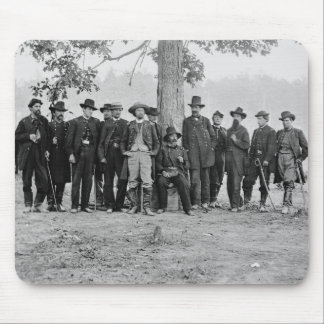 General Martindale & Staff, 1862 Mouse Pad