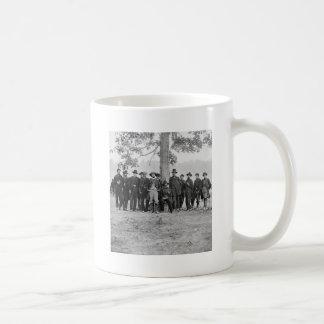General Martindale & Staff, 1862 Basic White Mug