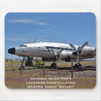 General McArthur s Lockheed Constellation N422NA Mouse Pads