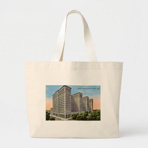 General Motors Building, Detroit, Michigan Bag
