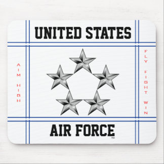 General of the Air Force Mouse Mat