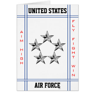 General of the Air Force O-10 Card