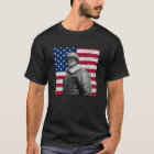 General Patton and The American Flag T-Shirt