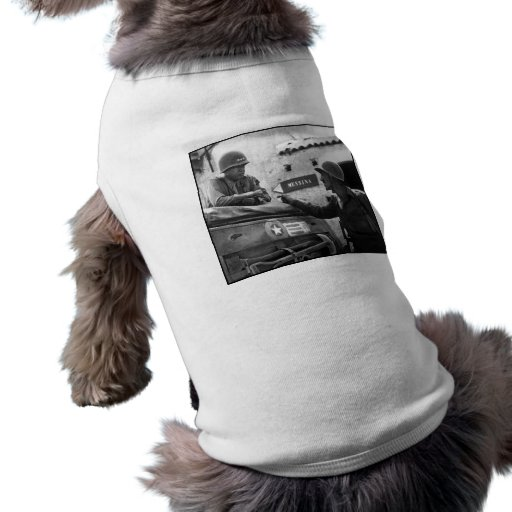 General Patton In Sicily Doggie Tee