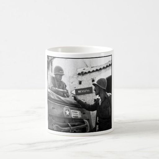 General Patton In Sicily Mug