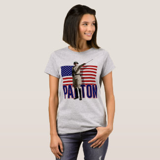 General Patton U.S. Flag Women's T-Shirt