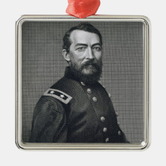 General Philip Sheridan, engraved from a photograp Christmas Ornament