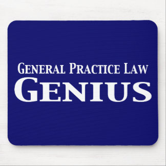 General Practice Law Gifts Mouse Pad