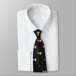 General Relativistic Universe (with curved grid) Tie