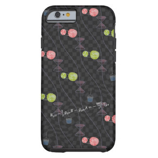 General Relativistic Universe (with curved grid) Tough iPhone 6 Case