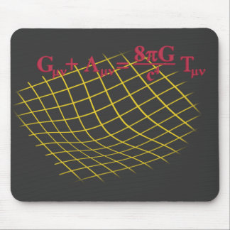 General Relativity Mouse Pad