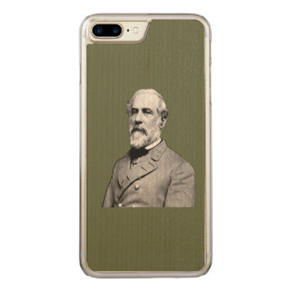 General Robert E. Lee  Army Green Carved iPhone 7 Plus Case