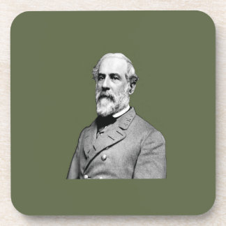 General Robert E. Lee  Army Green Coaster