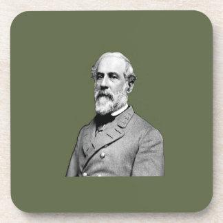 General Robert E. Lee  Army Green Coasters