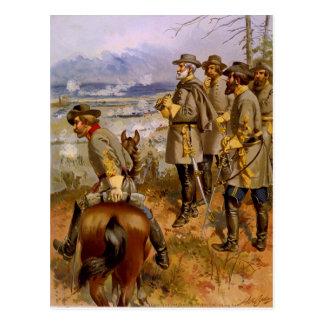 General Robert E. Lee at Fredericksburg by A Ogden Post Card