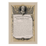 General Robert E. Lee Farewell Address Poster