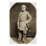 General Robert E. Lee in 1863 Print