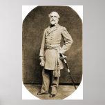 General Robert E. Lee in 1863 Print