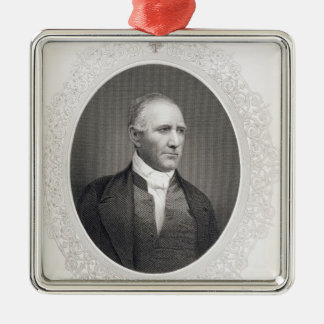 General Samuel Houston Silver-Colored Square Decoration