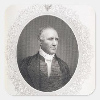 General Samuel Houston Square Sticker