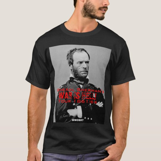 General Sherman's American Tour T-shirt
