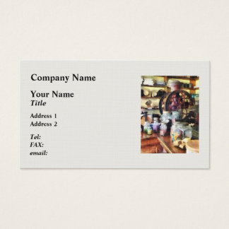 General Store With Candy Jars Business Card