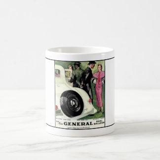 General Tire year 1933  ad.1 Basic White Mug