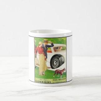 General Tire year 1933 ad.2 Basic White Mug